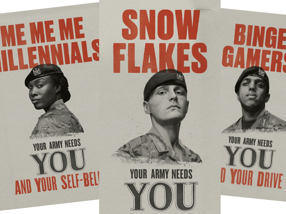 British Army Launches Recruitment Drive For 'Millenials', 'Snowflakes'