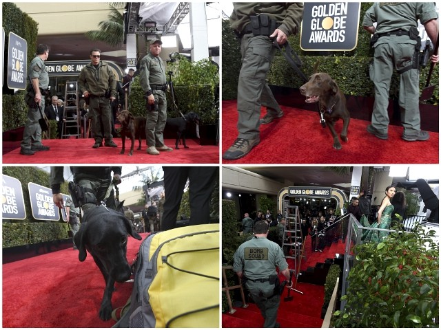 Golden Globes: Anti-Gun Hollywood Surrounded By Security Walls and Armed Guards