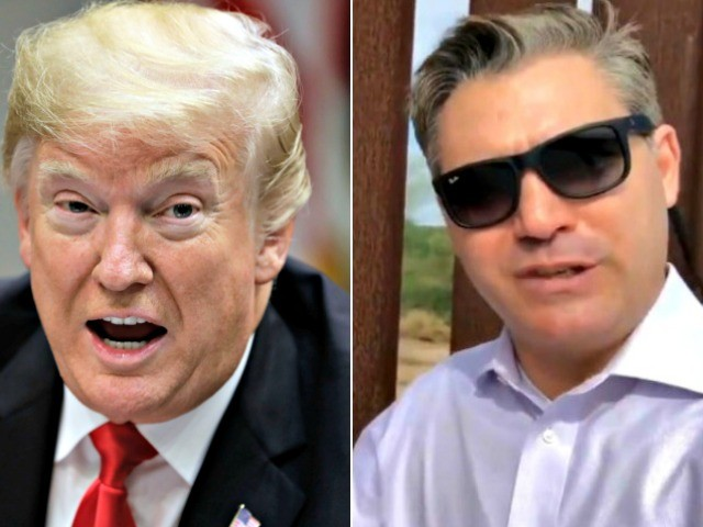 Donald Trump to Jim Acosta: 'Good Job! I Appreciate the Sales Pitch'