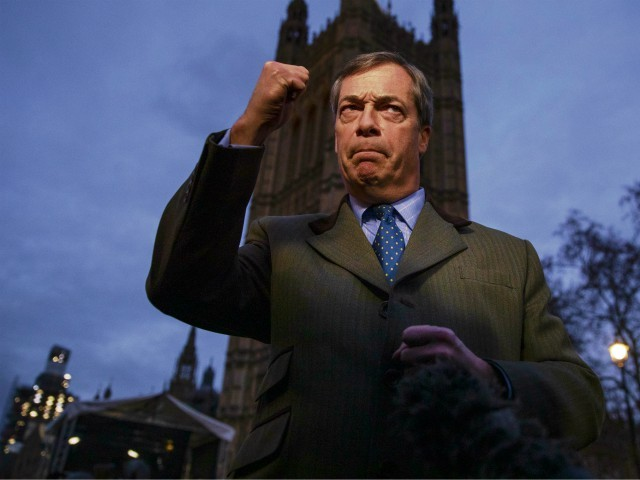 Farage: MPs Engaged in 'Betrayal of Greatest Democratic Exercise in Our History'