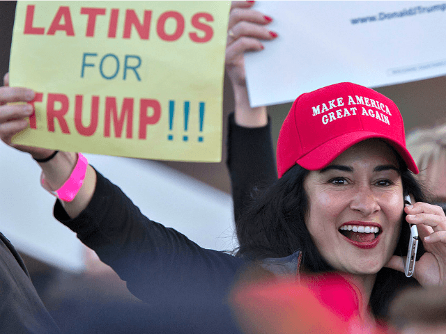 'Voice of Hispanic America' Salinas: Many Latinos 'Buying' Trump's Arguments Against Illegal Immigration