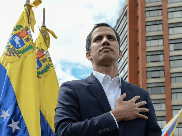 Donald Trump Speaks with Venezuelan Interim President Juan Guaido