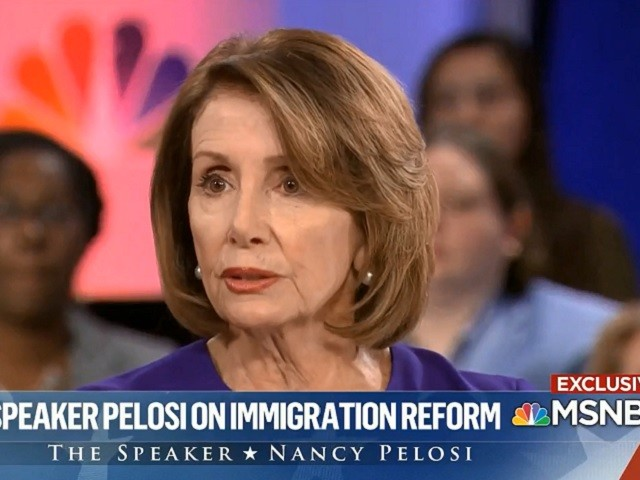 Pelosi: Comprehensive Immigration Reform is the Best Way Forward, Wall 'an Immorality'