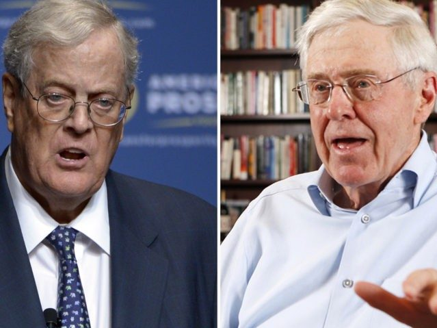 Billionaire Kochs Plot DACA Amnesty, Vow Not to Support Trump in 2020