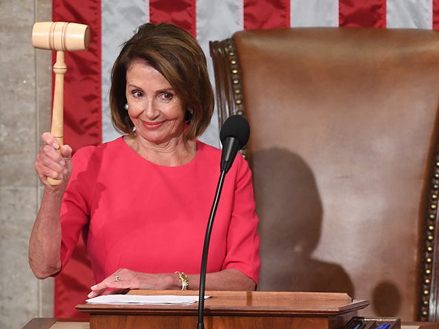 Nancy Pelosi Elected Speaker of the House with 220 Votes