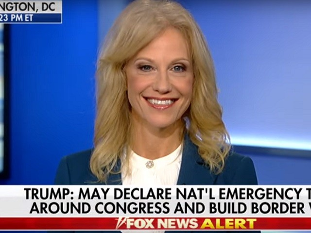Conway: Trump Declaring a National Emergency 'Would Also Let Congress Off the Hook'