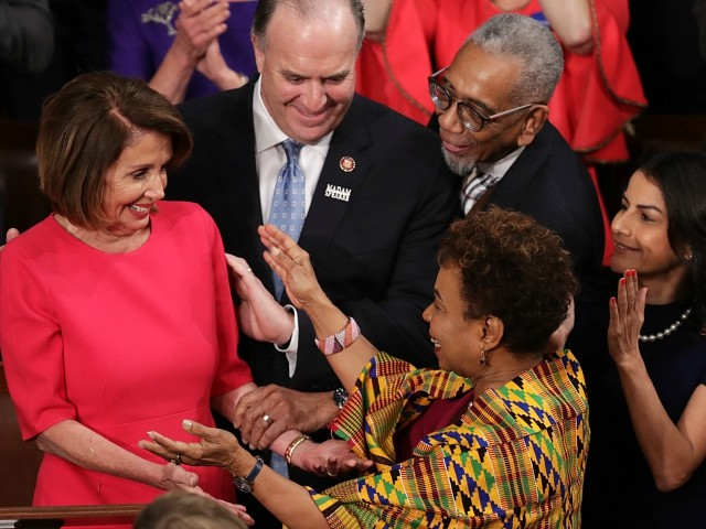 Celebrities Flock to Nancy Pelosi's House Speaker Coronation