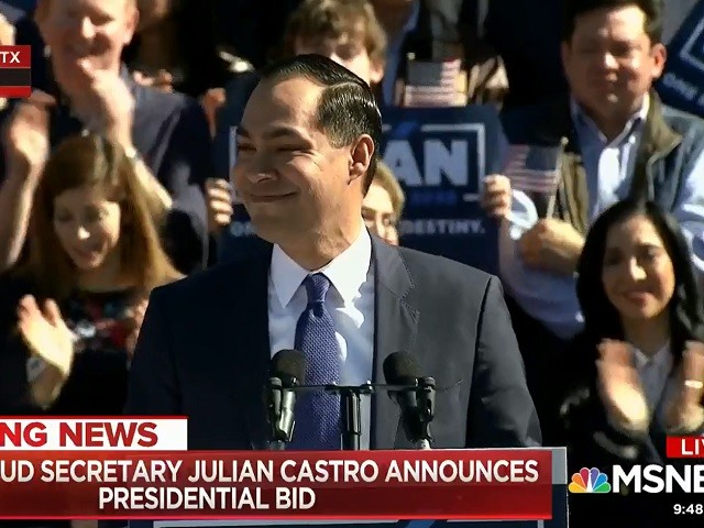 Julian Castro: 'I Am a Candidate for President of the United States of America'
