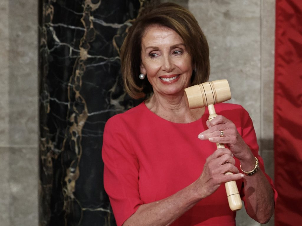 Nancy Pelosi Claims Constitution Gives Her Equal Power to President Trump
