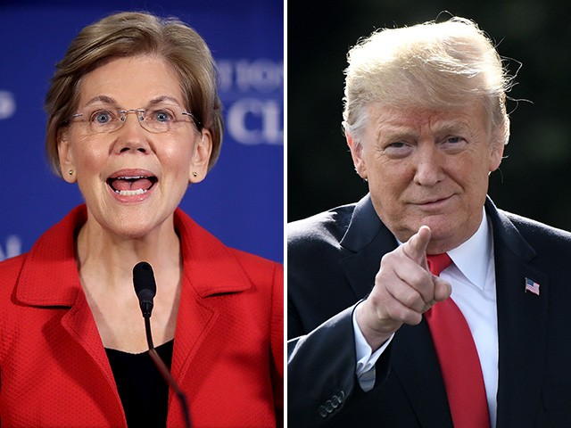Donald Trump Ridicules '1/2020th' Elizabeth Warren Presidential Hopes