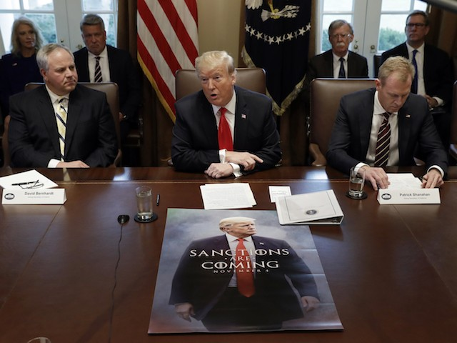 Donald Trump Prints Poster-Size Game of Thrones Meme Warning Iran