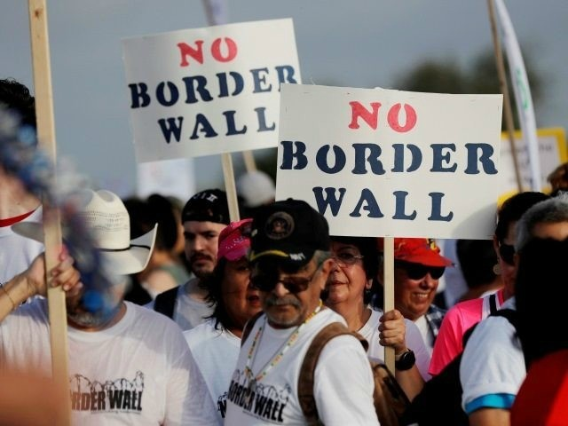 'Resisting the Wall' March: No to 'Racist' 'Symbol of Hate'