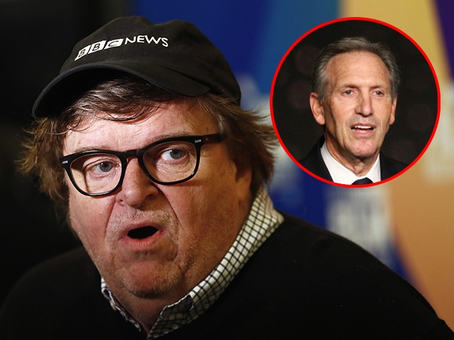Michael Moore Calls for Starbucks Boycott Until Howard Schultz Drops Presidential Ambitions
