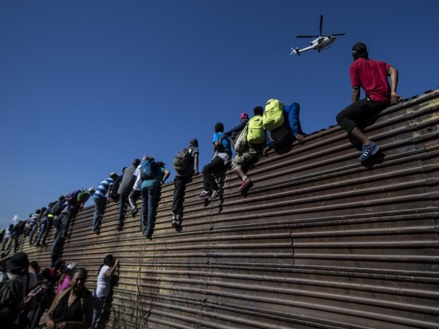 Donald Trump Promises 'Human Wall' of Troops to Block Migrant Caravans