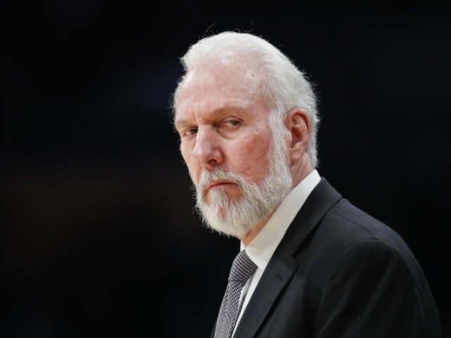 Spurs' Popovich Says Kaepernick 'Was Very Courageous in What He Did'