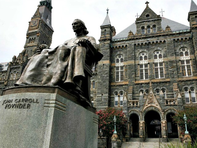 Georgetown University Students May Face Student Fee to Pay Slavery Reparations