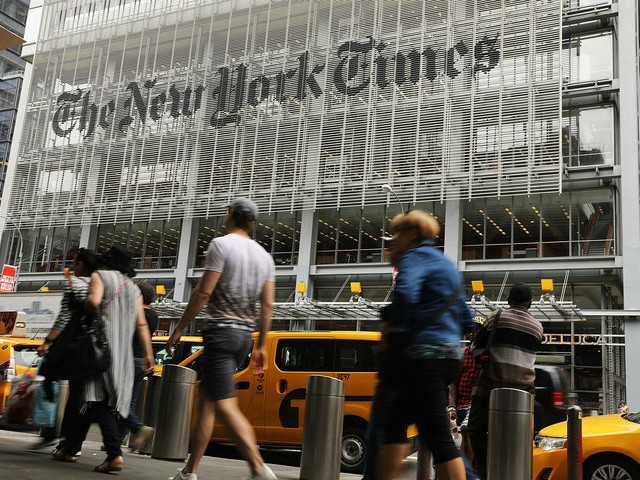 Donald Trump Continues Wooing the New York Times for Positive Coverage