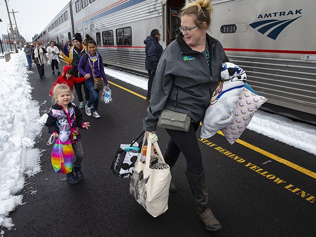 Amtrak Train Stranded for Day-and-a-Half Arrives in Oregon