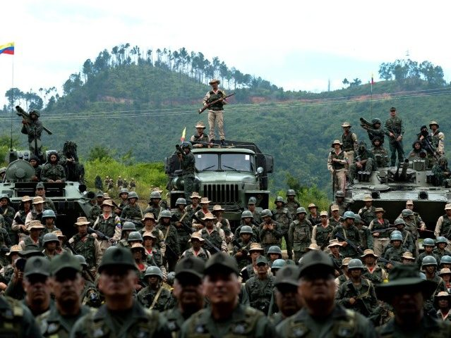Maduro Declares Venezuela 'Impregnable' from U.S. Invasion in War Games Launch