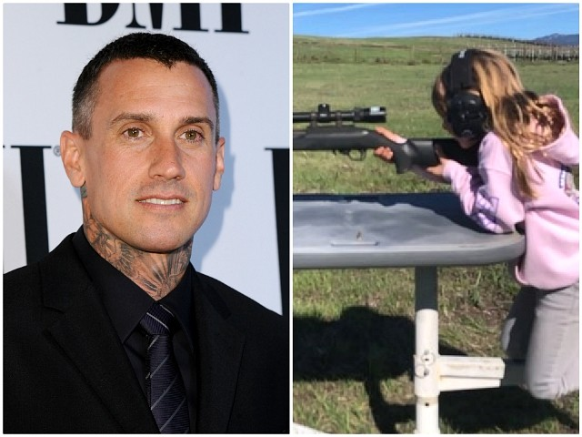Pink's Husband Carey Hart Rips Critics Attacking Him for Letting His Daughter Shoot Guns