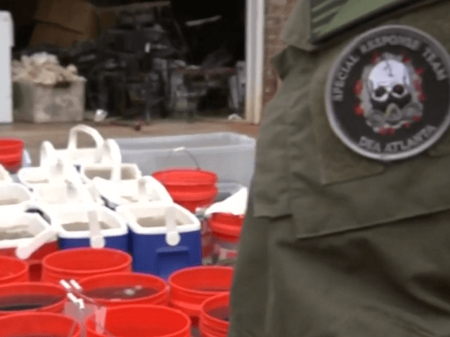 'Huge, Sophisticated' Mexican Cartel Meth Lab Busted by DEA in Georgia