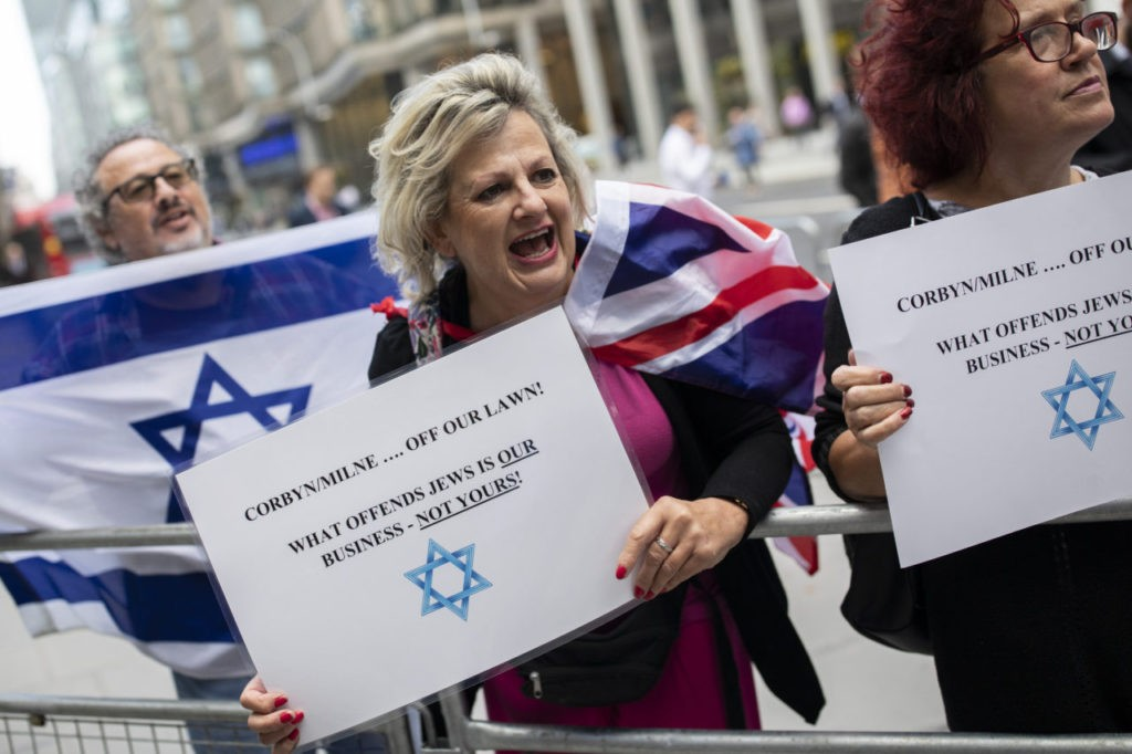 UK Labour Accused as Anti-Semitic Hate Incidents Soar to Record High