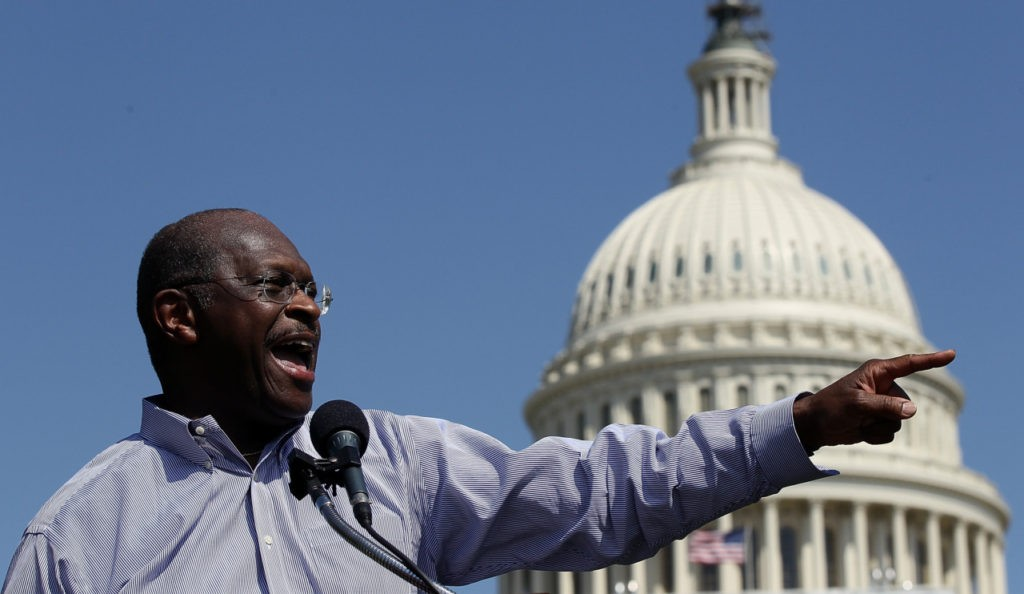 Trump Reportedly Considering Naming Herman Cain to Fed