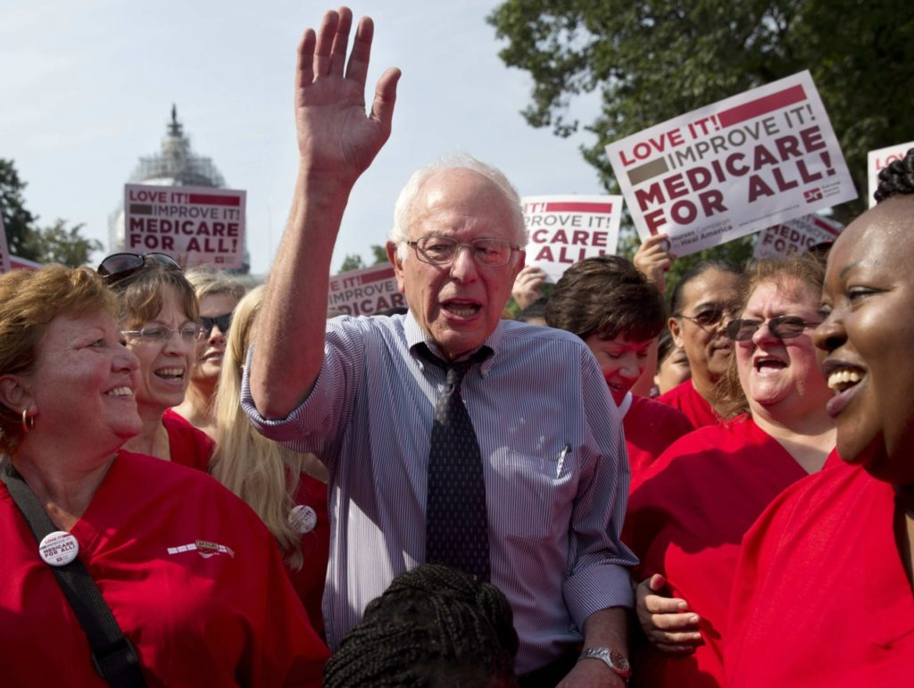 Bernie Sanders's 'Medicare For All' Bill Restricts Private, Employer-Sponsored Insurance