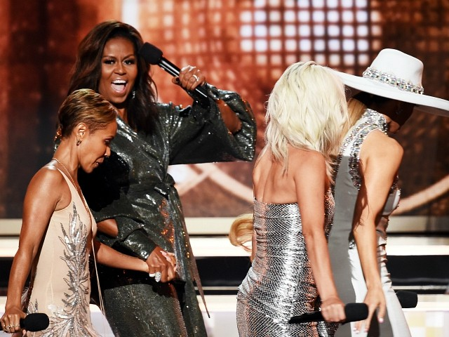 Grammys: Michelle Obama Gets Standing Ovation with Surprise Appearance