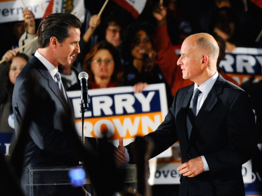 Gavin Newsom Cuts Jerry Brown's Twin Tunnels to One