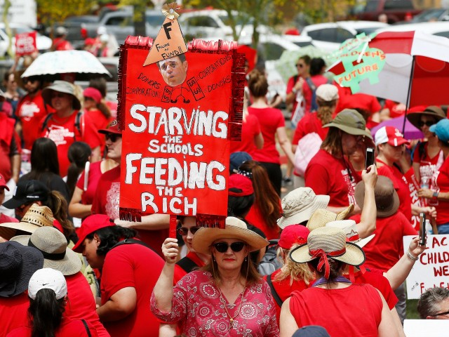 #RedForEd: West Virginia Teachers Strike over Charter School Bill Governor Vows to Veto