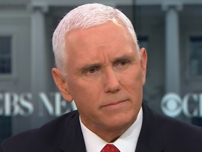 Pence Defends Trump Shutdown -- 'I Never Think It's a Mistake to Stand Up for What You Believe in'