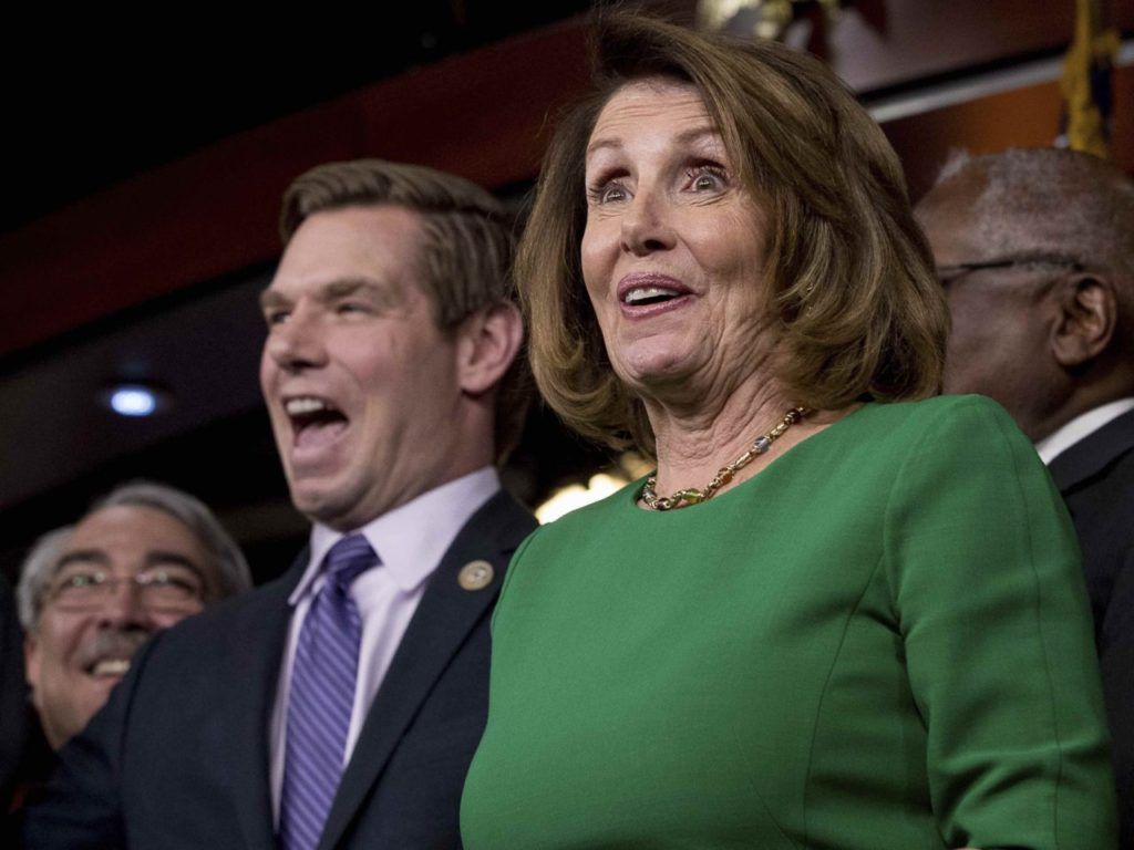 Eric Swalwell Falsely Claims NRA Calling for Pelosi Assassination