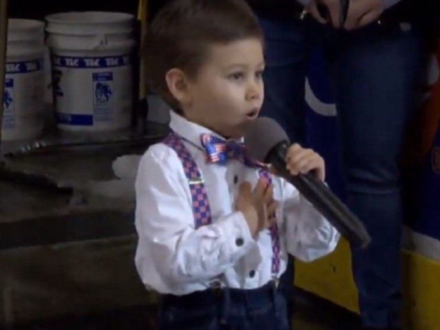 WATCH: 4-Year-Old Sings National Anthem at Minor League Hockey Game