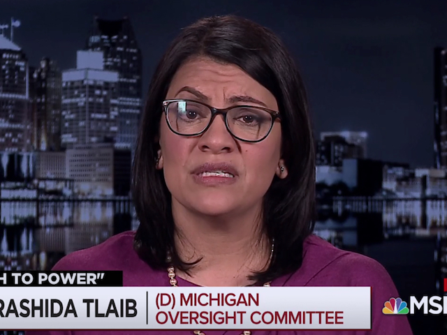 Rep. Tlaib: Trump Was Sending 'Bribery' Money From the Oval Office