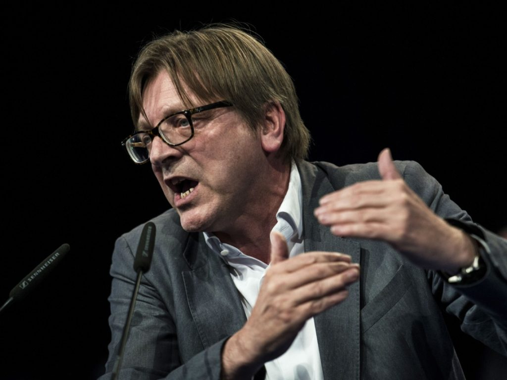 EU Elections 'Last Chance to End Nationalist Nightmare' - Verhofstadt