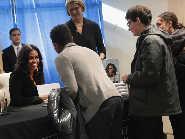 Michelle Obama Memoir Becoming Best-Selling in History