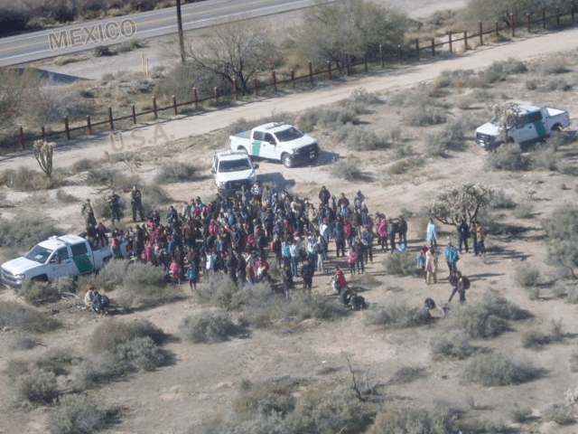 76K Migrants Entered Through Southwest Border in February -- Most in 12 Years, Says CBP