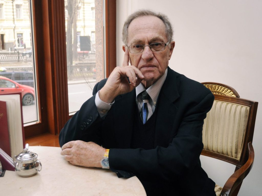Alan Dershowitz to FBI: Investigate Me -- Please!