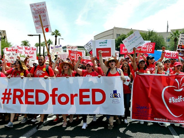 #RedForEd: Parents and Teachers 'Scared to Disagree with Striking Teachers Unions'