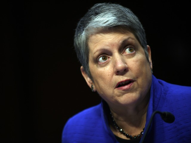 Janet Napolitano: Climate Change Is a Threat -- 'The Southwest Border' Is 'Not a Real Threat'