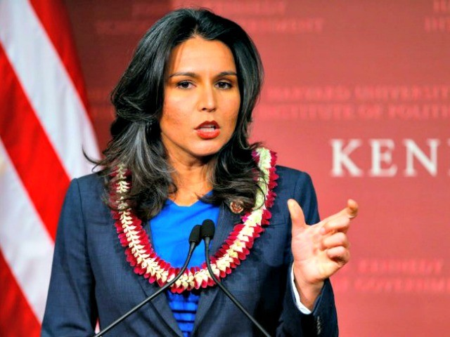 Tulsi Gabbard Attacks Facebook over Censorship, Defends Free Speech for 'All Americans'