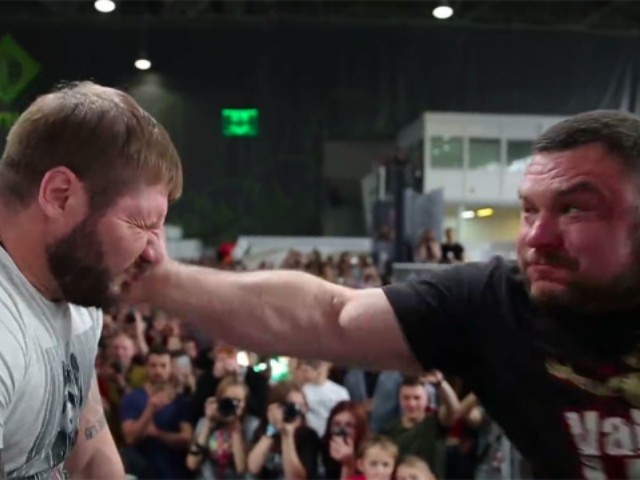 WATCH: Russian Face-Slapping Competition Goes Viral