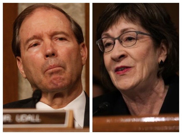 Susan Collins, Tom Udall Unveil Bill to End Trump's National Emergency