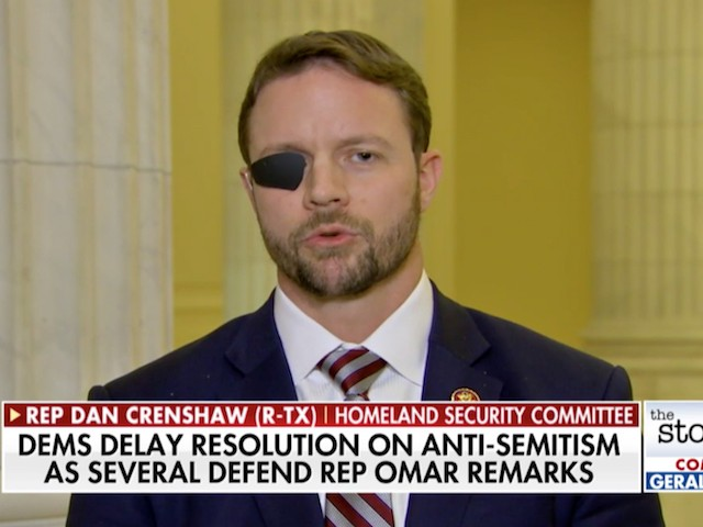 GOP Rep. Crenshaw: There Are Far Left-Wing Democrats That 'Truly Do Not Like Israel'