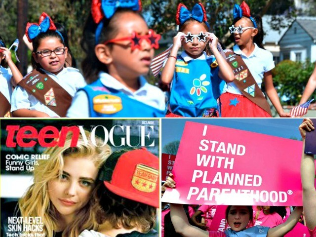 Girl Scouts Partner with Abortion Industry, 'Anal Sex Tutorial' Promoter Teen Vogue