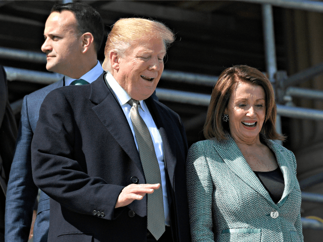 Nancy Pelosi Needles Donald Trump on Immigration at St. Patrick's Day Celebration