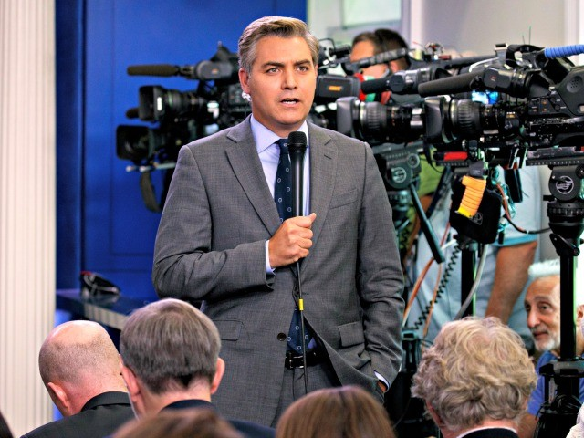 CNN's Jim Acosta Pushes Charlottesville Hoax at White House Briefing