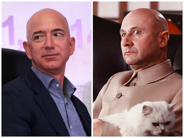 Virgil: Bond Villain Jeff Bezos Shaken, Not Stirred