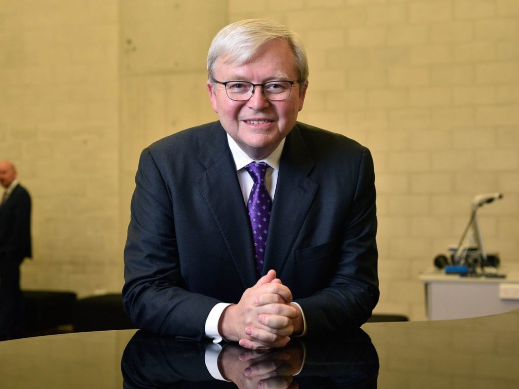 NPR Allows Former Australian PM Kevin Rudd to Blame Breitbart, Falsely, for New Zealand Terror
